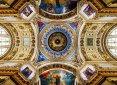 Kopuła - wnętrze Soboru pw. św. Izaaka